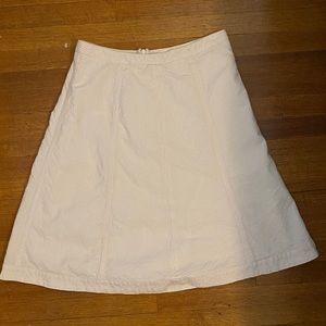 EUC, Banana Republic Seersucker Skirt, Pink/Ivory
